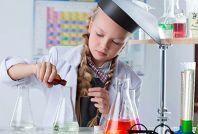 Засідання клубу Пізнайко в гостях у науки хімії